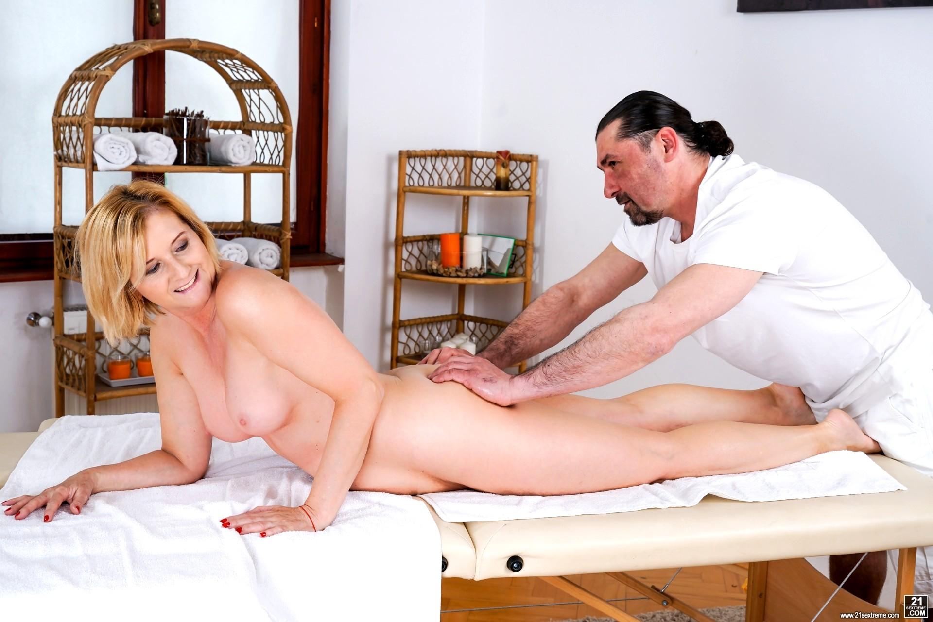 Free mature massage video