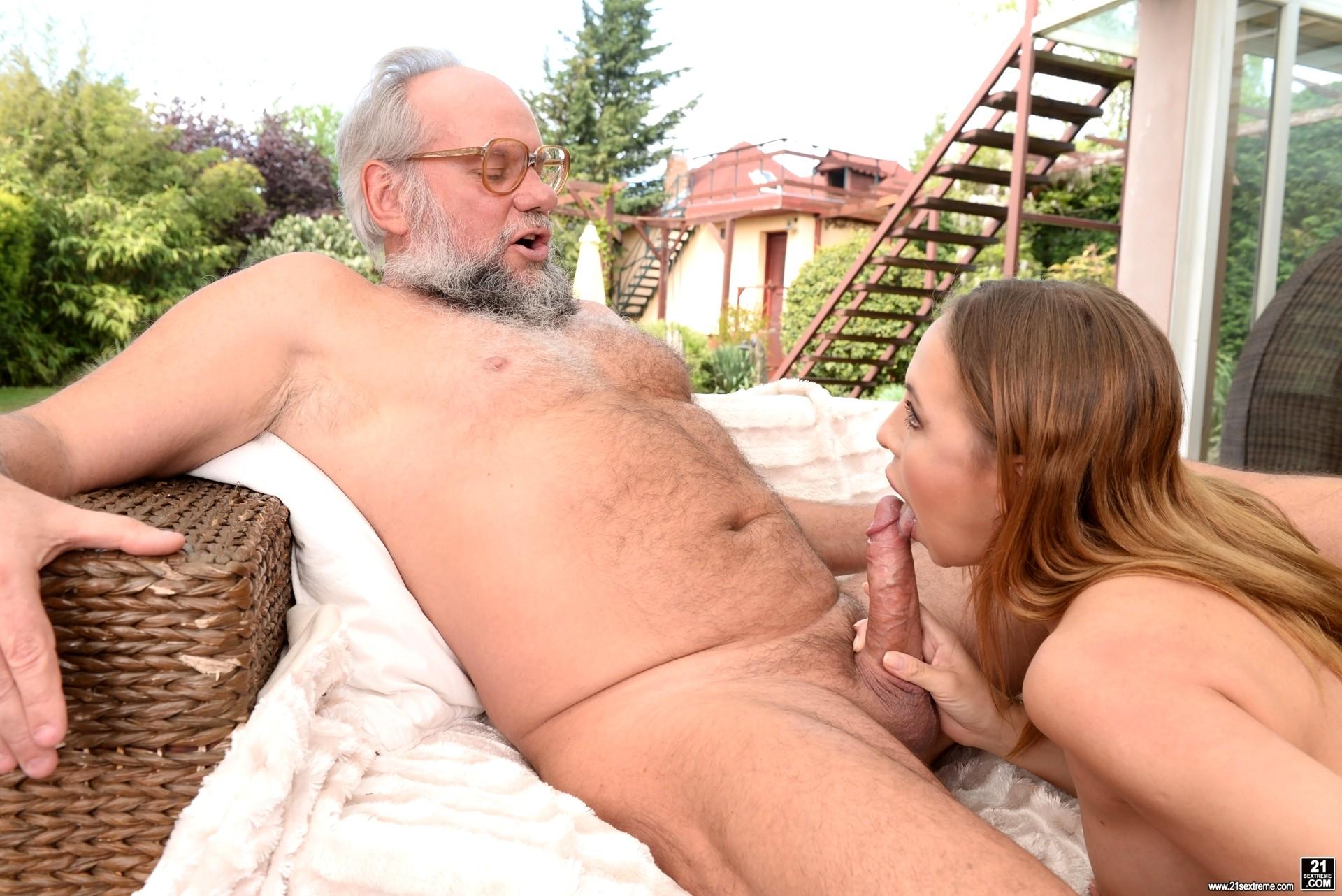 Grandpa Fucks Teen Girl Make That Money