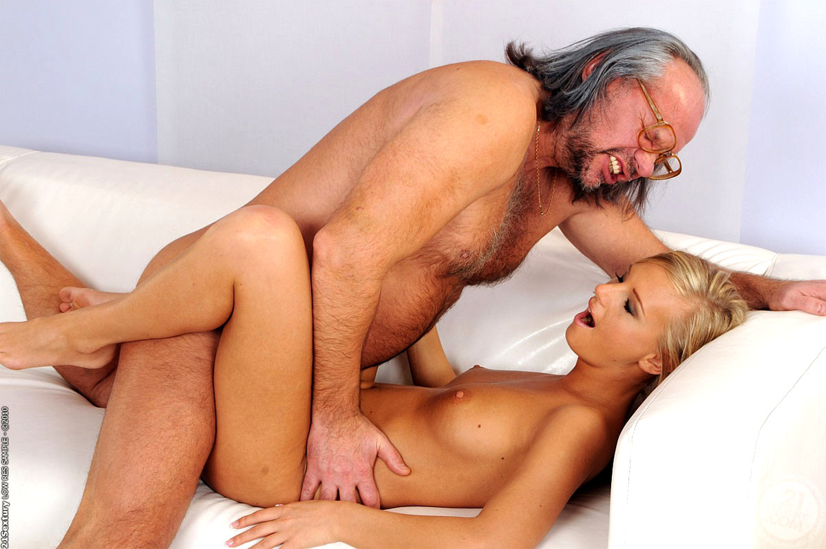 Teen girl grandfather fucking in kitchen