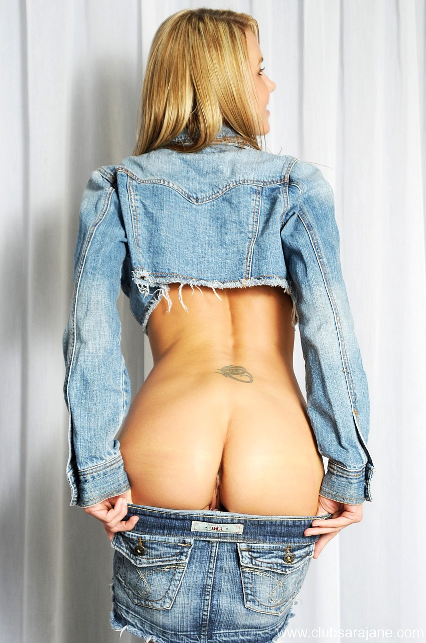 Ass In Blue Jeans