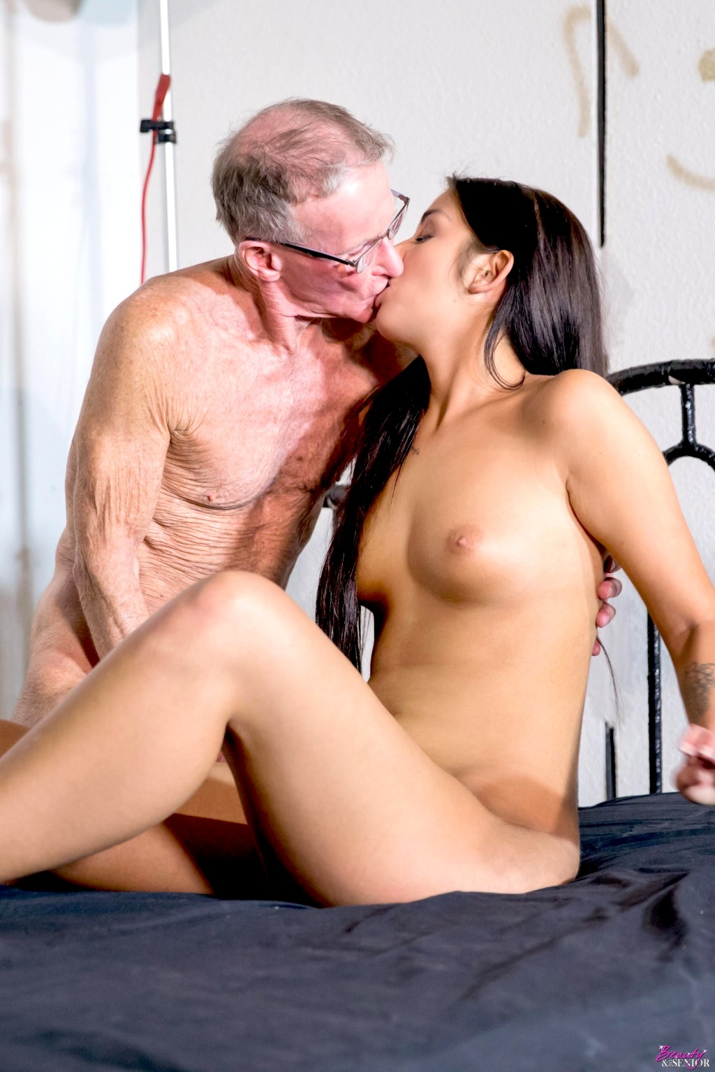 Dad intense orgasm