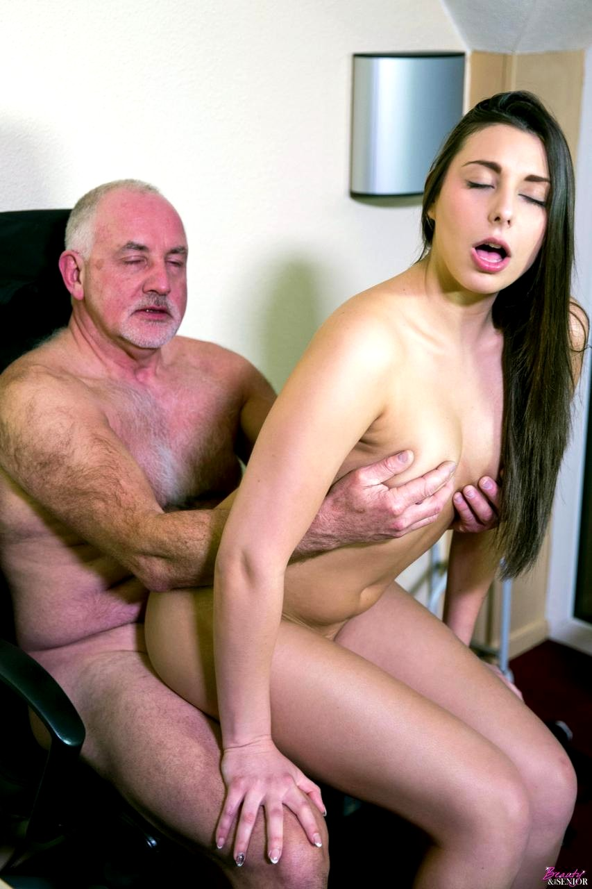 Old Man Suck Tits Young Girl