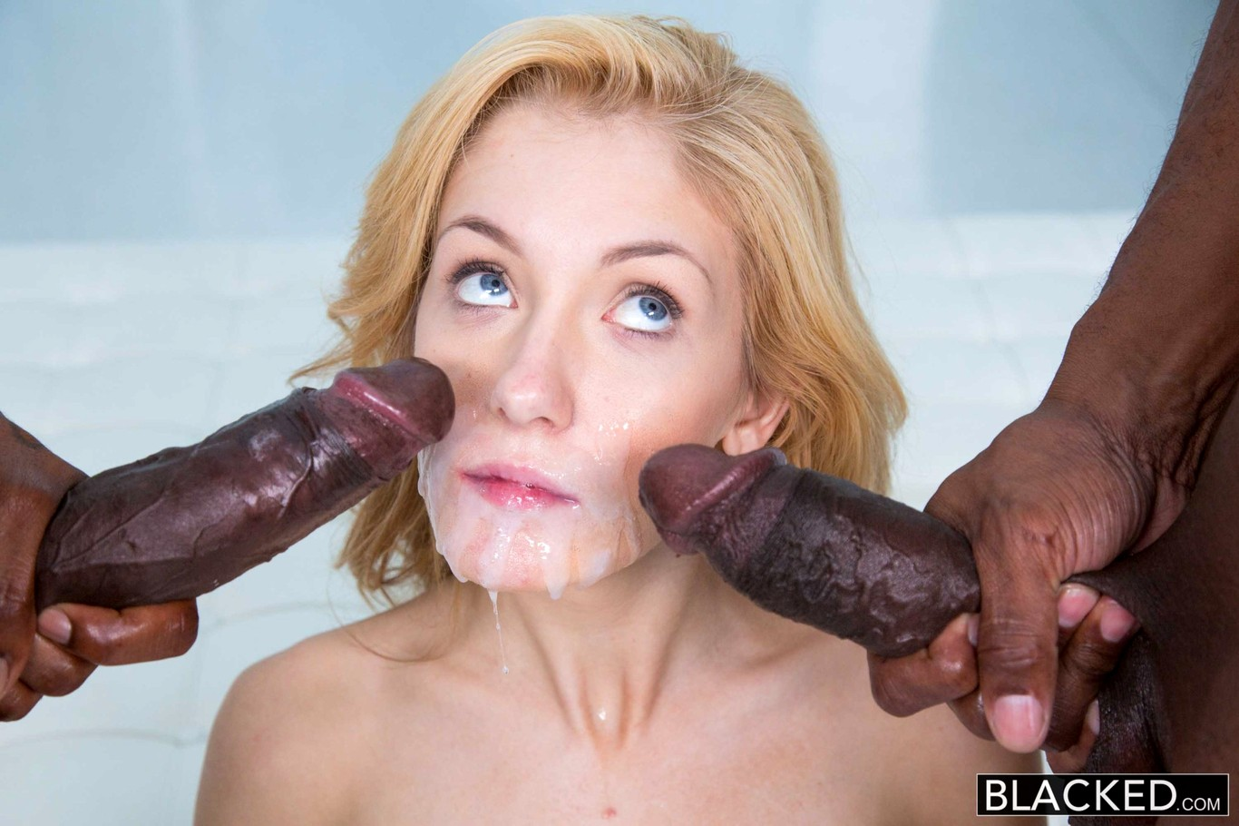Shocking interracial porn galleries, hot lesbo chicks blonde pornhub