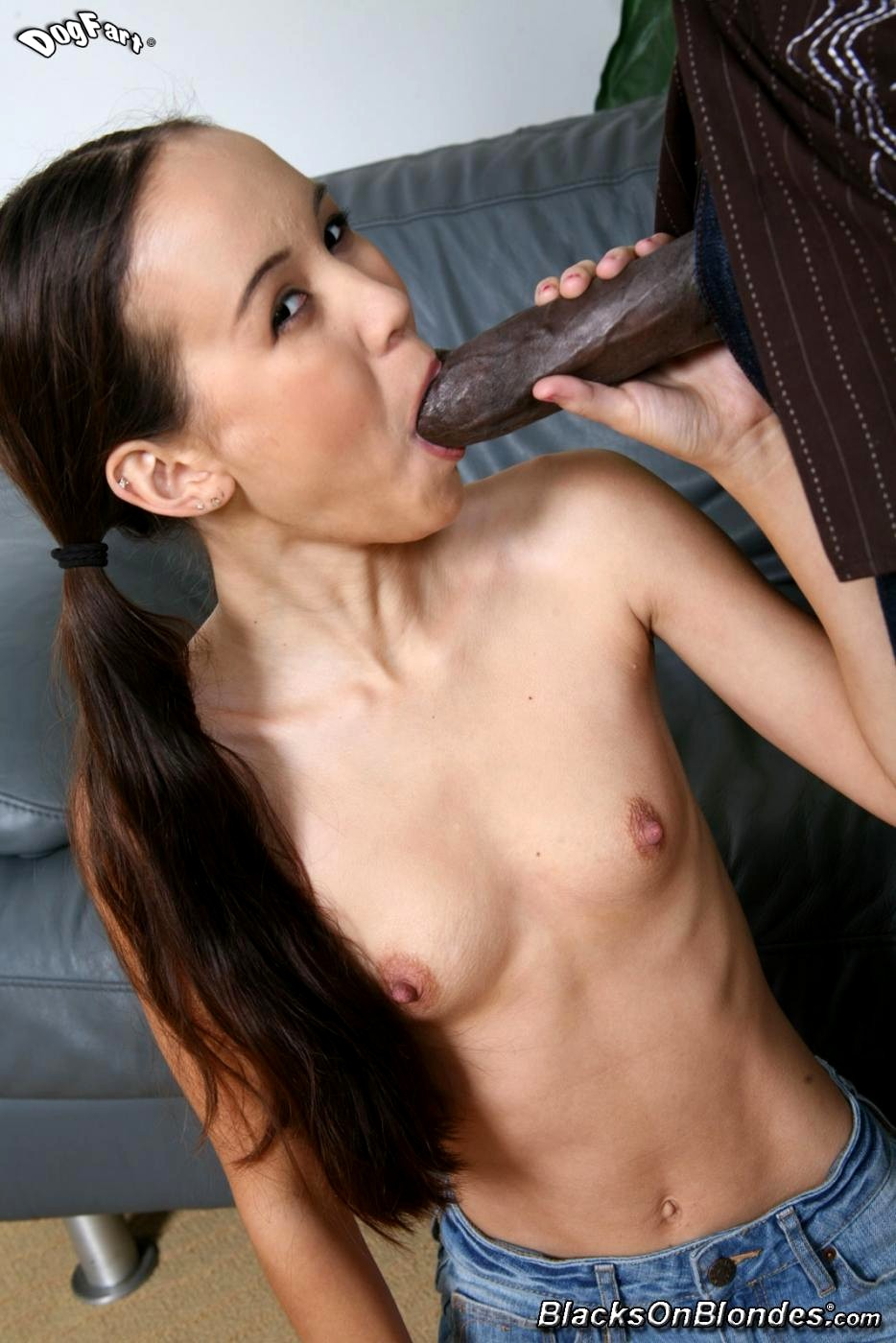 girl playing with dildo gif