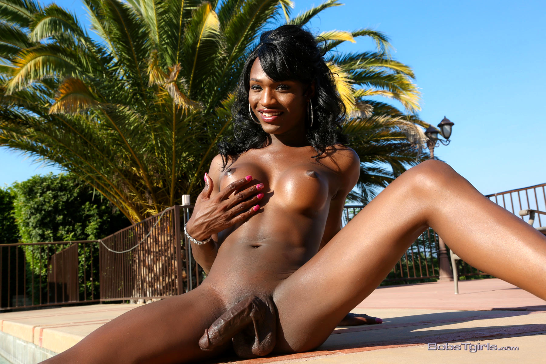 black-shemale-pool-sex-lube