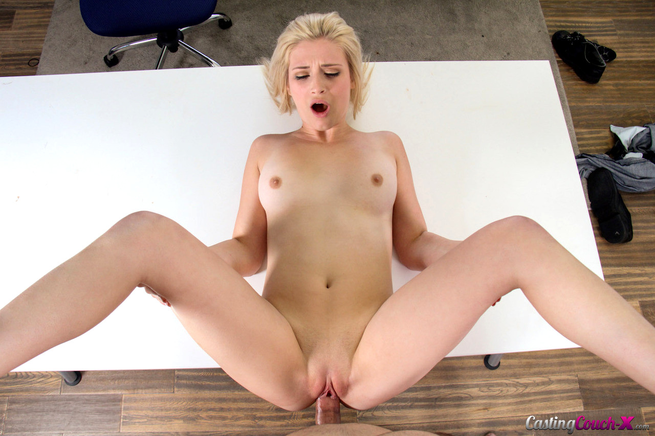 Casting Couch X Aubrey Gold Top Suggested Blowjob Porngirl -6063