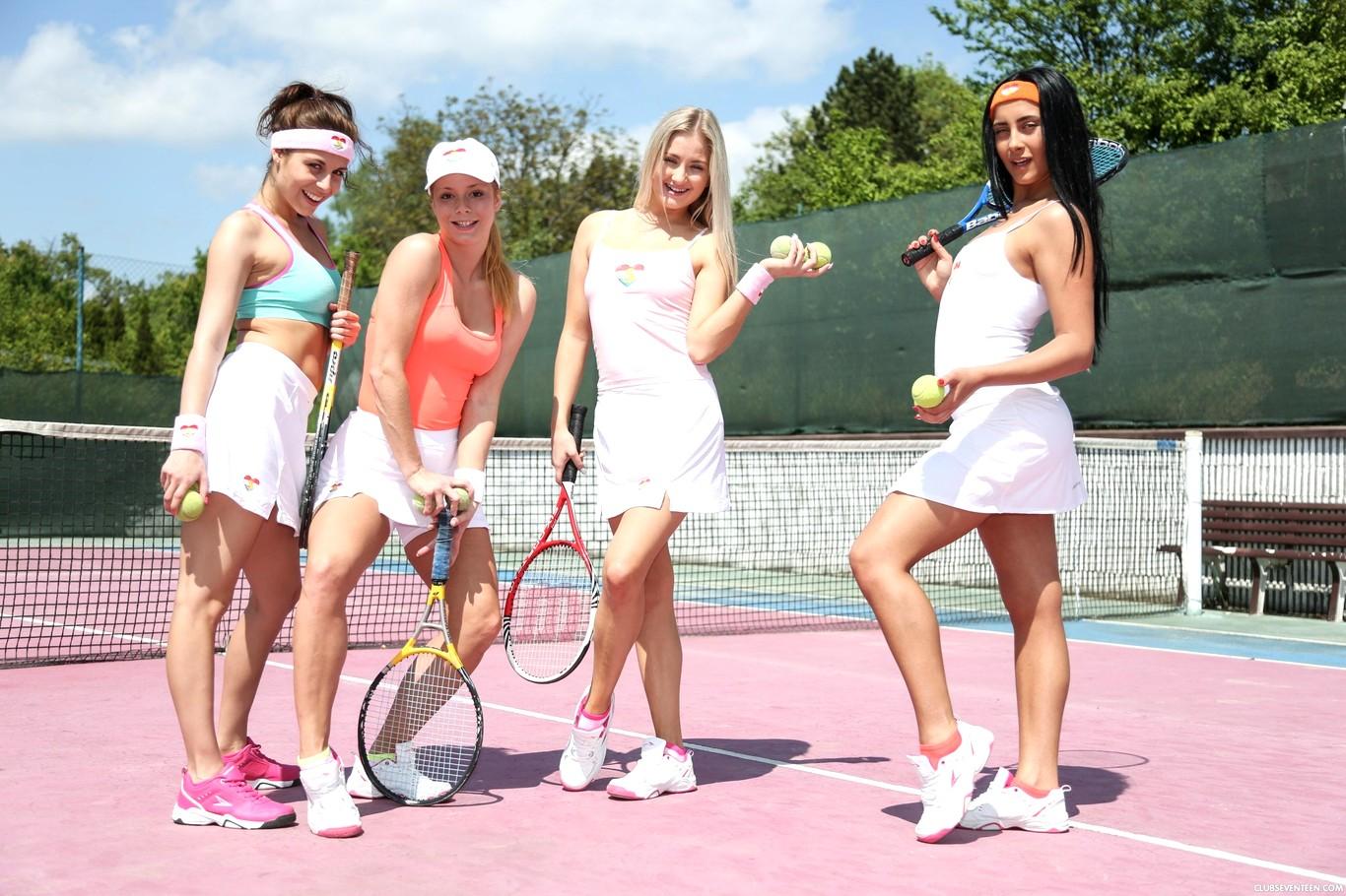 Lesbian tennis story