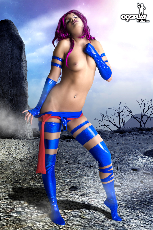 Psylocke Model Nude