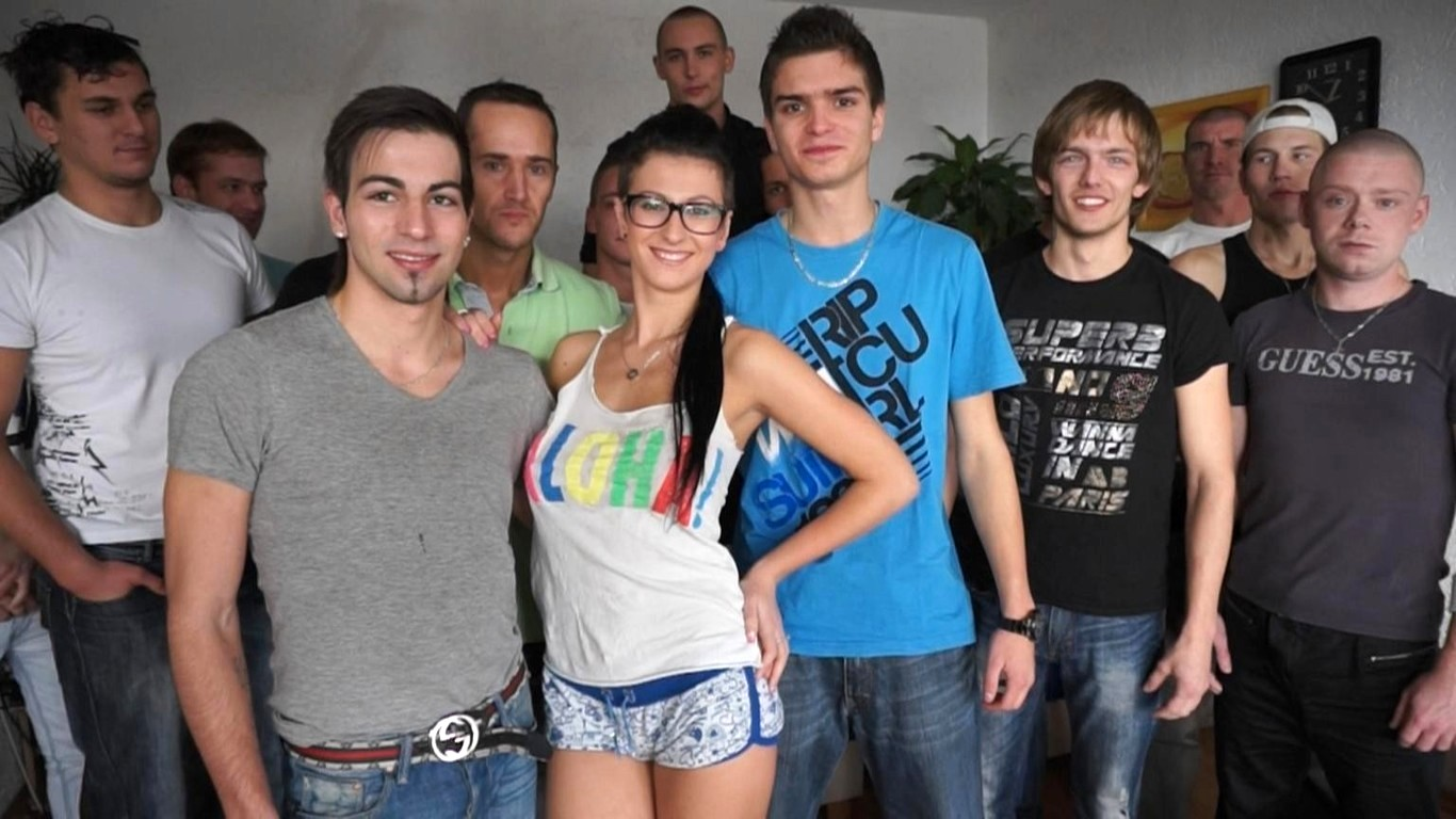 Czech Teen Gangbang