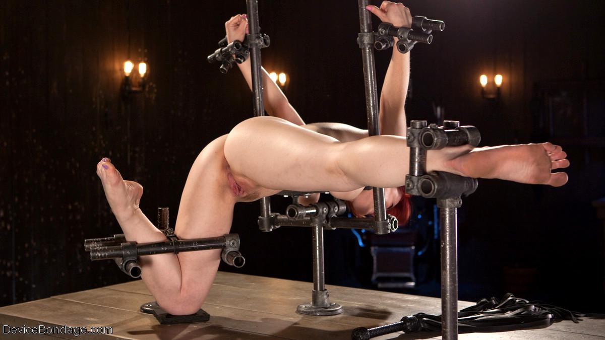 Amber rayne in a device bondage porn photo