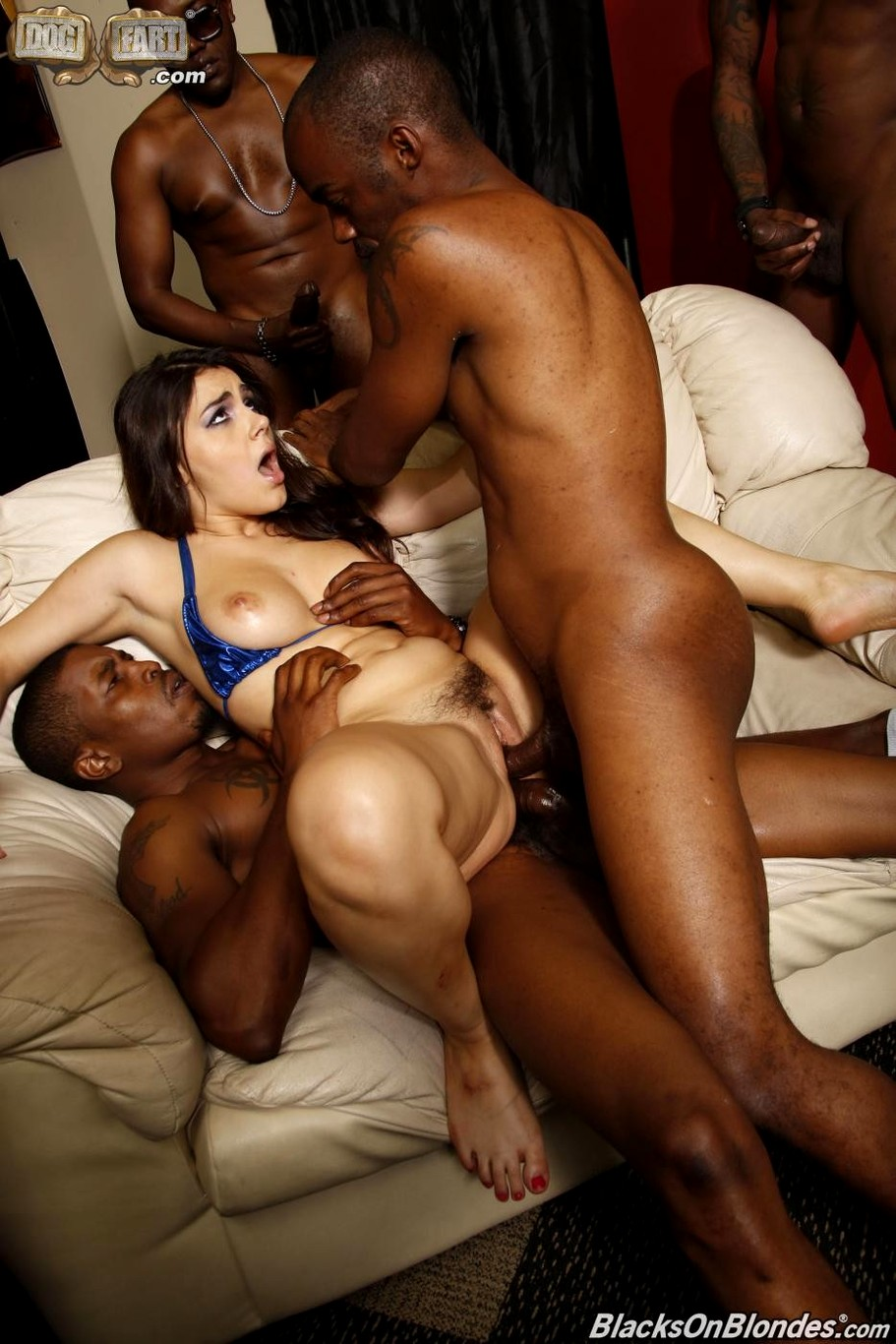 Watching Wife Get Gangbanged