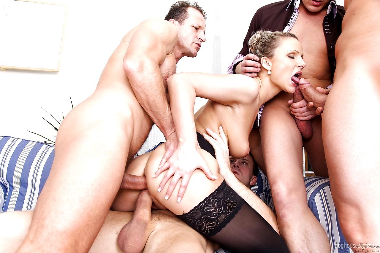 Gangbang hardcore fuck my hot wife — 12
