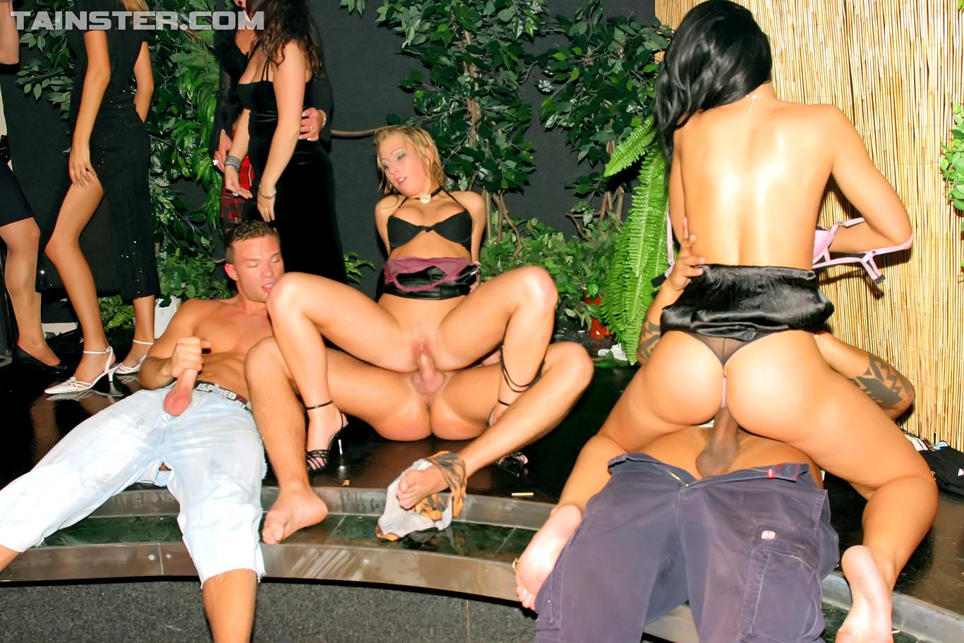 Drunk party ass