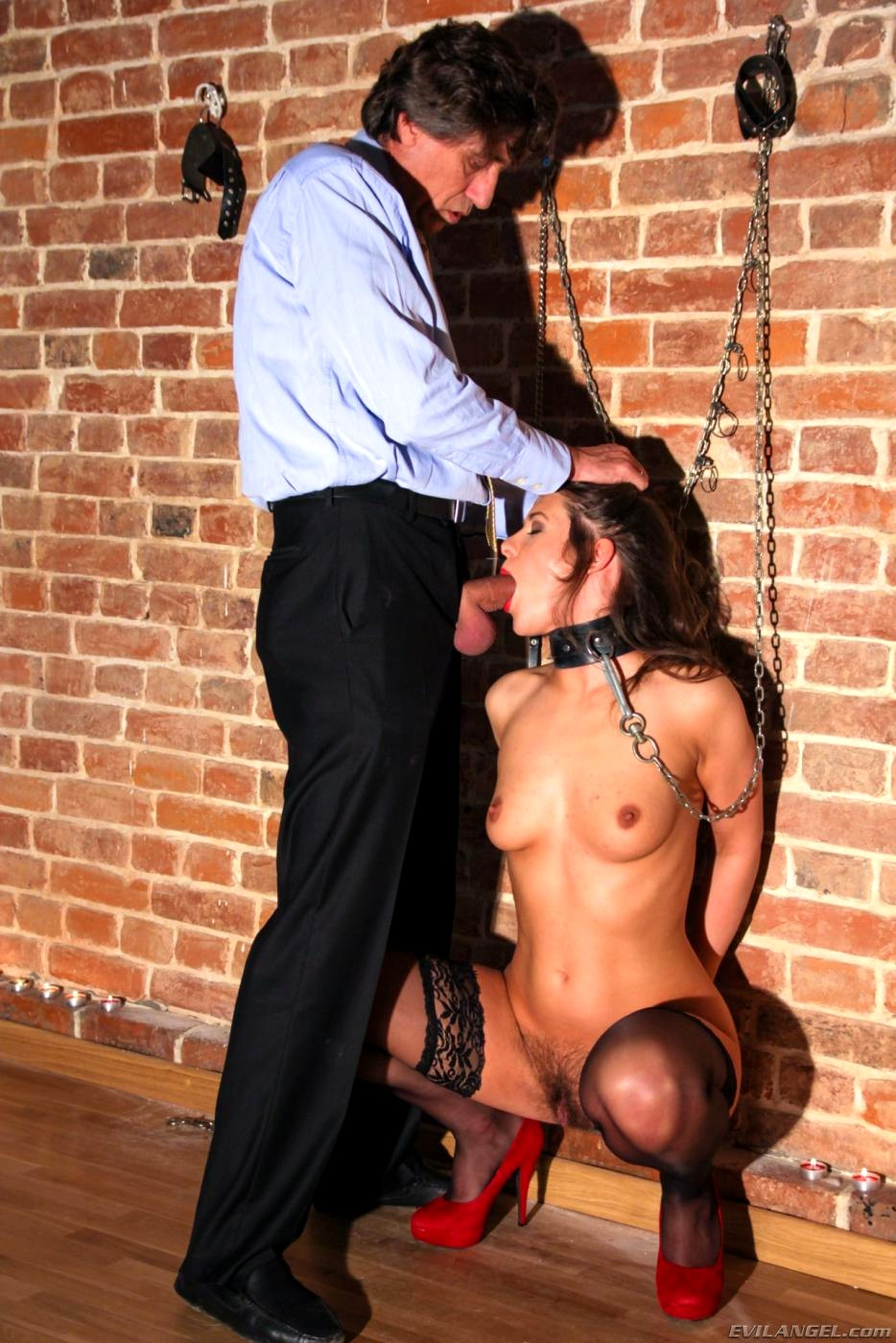 Bound Tied and Tortured Tits - BDSM Slaves