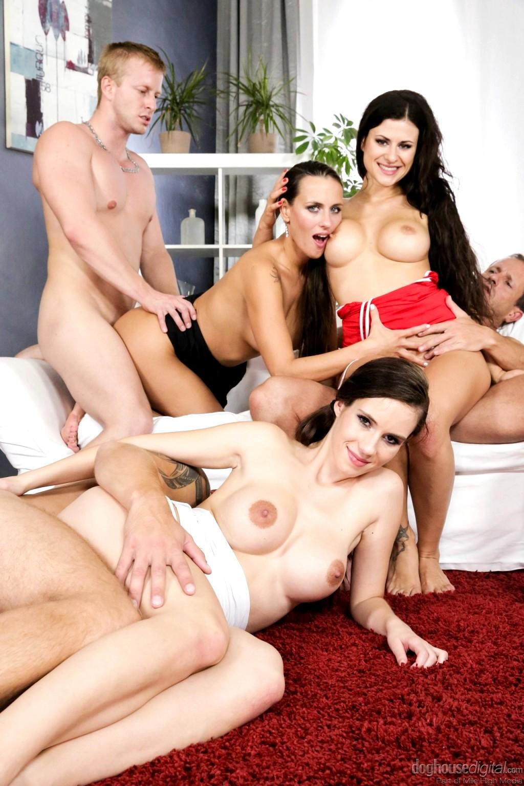 The mineverse mini orgy