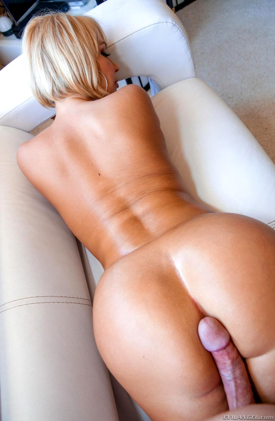 Amazing ass pounded - prone bone