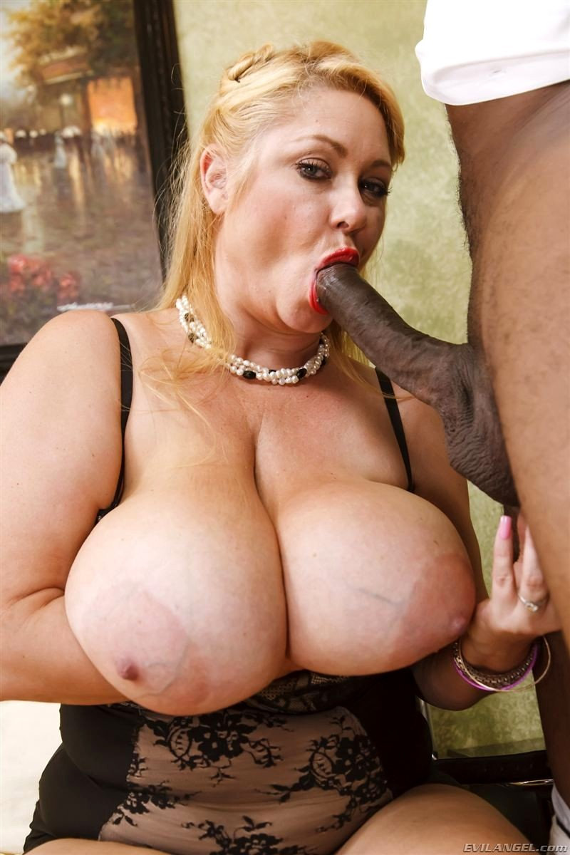 Can big titted blonde interracial sex