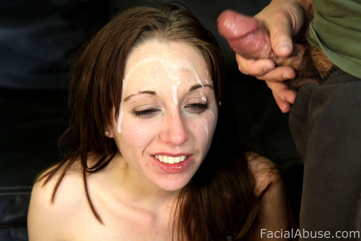 Nudeass facial abuse free video