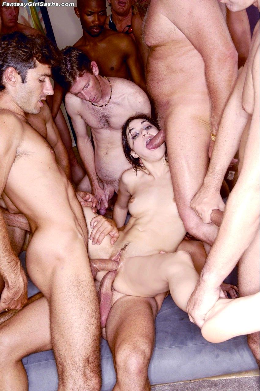 Саша грей в групповом сексе фото — pic 15