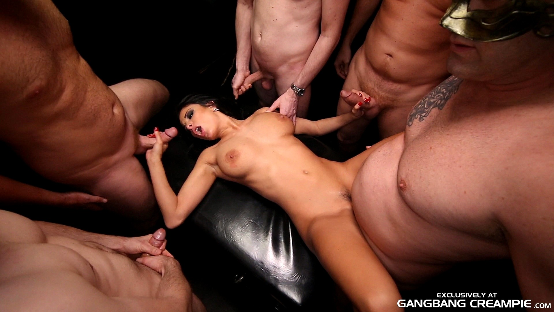 Pussy filled with cum in gang bang, watch closeup of pussy cum filestube