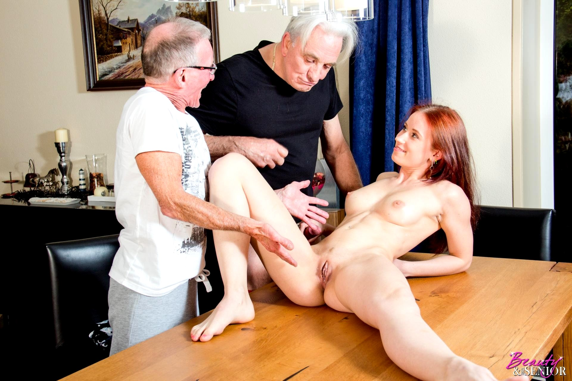 Old men younger women sex