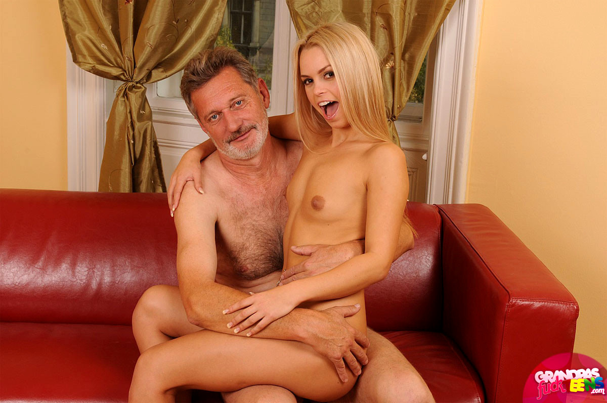 Muscular young grandpa fuck breasts sex