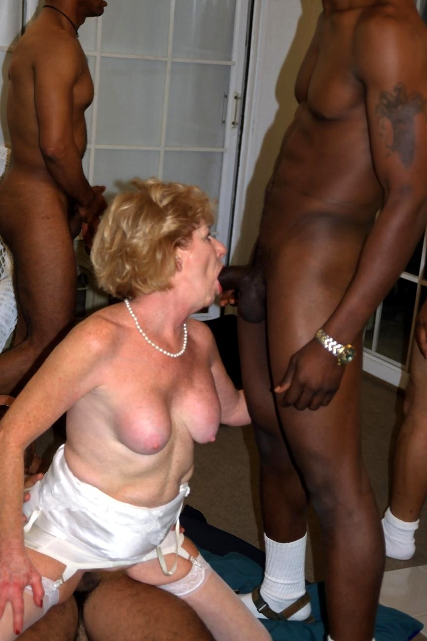 Granny gangbang abused — 3