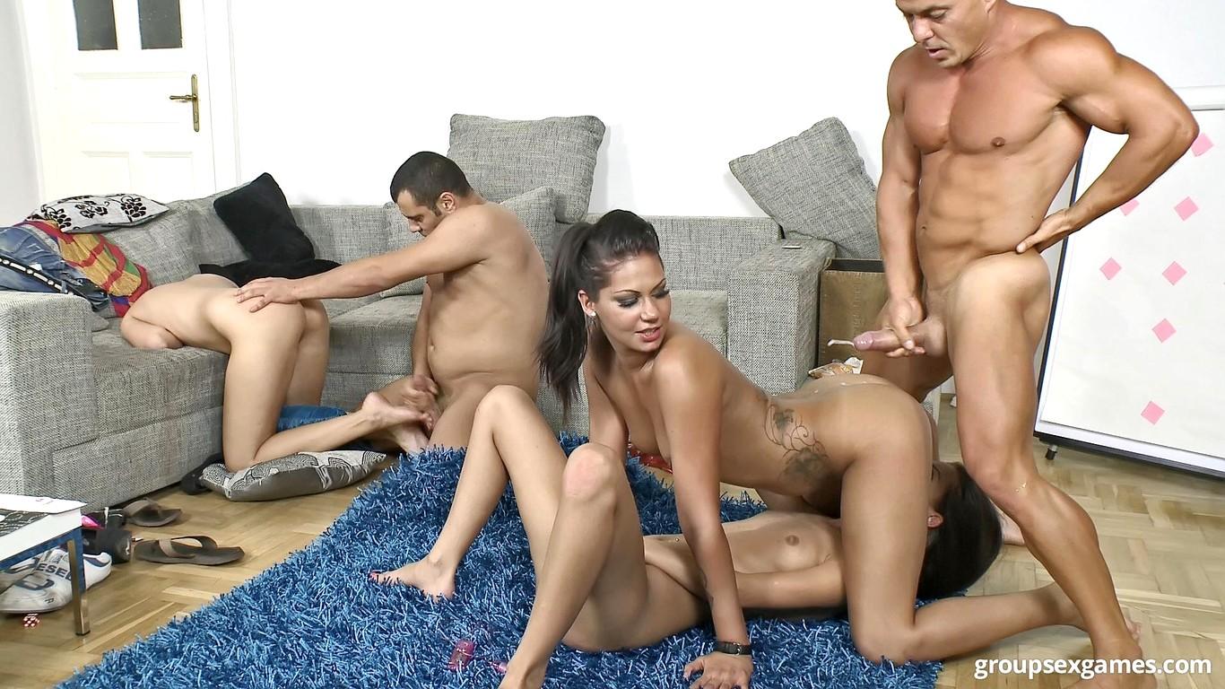 Секс Игра Групповуха