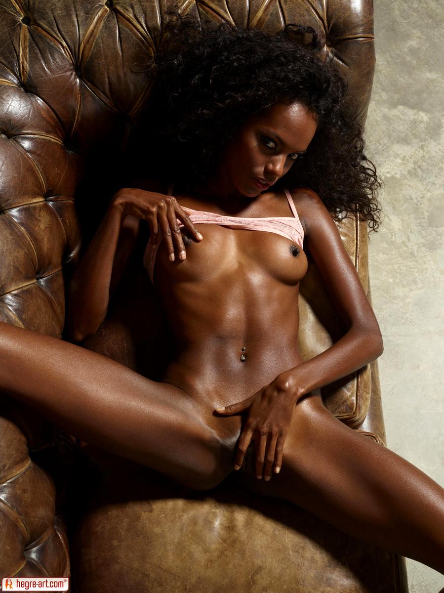 Hot ebony girls posing nude
