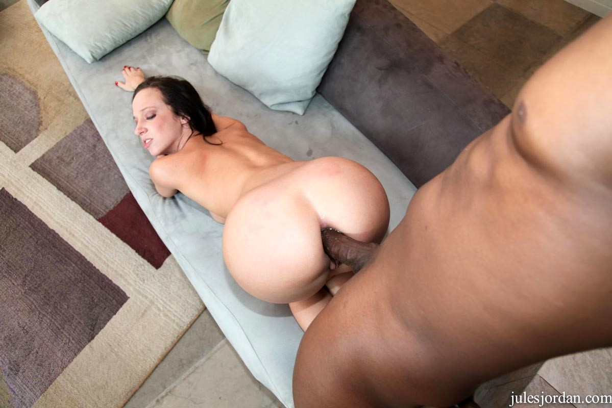 Huge ass anal interracial #2