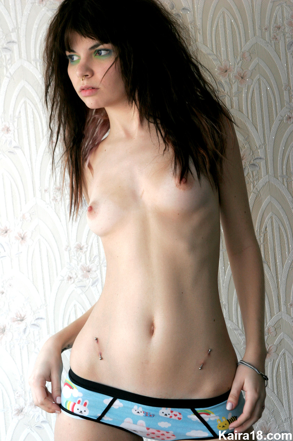Emo small tits, girls of the big naked