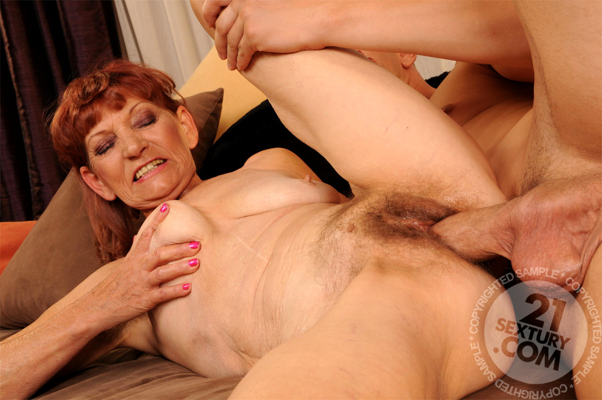 Lusty Grandmas Irene Funny Mature Redhead Fucked Pornmodel -5630