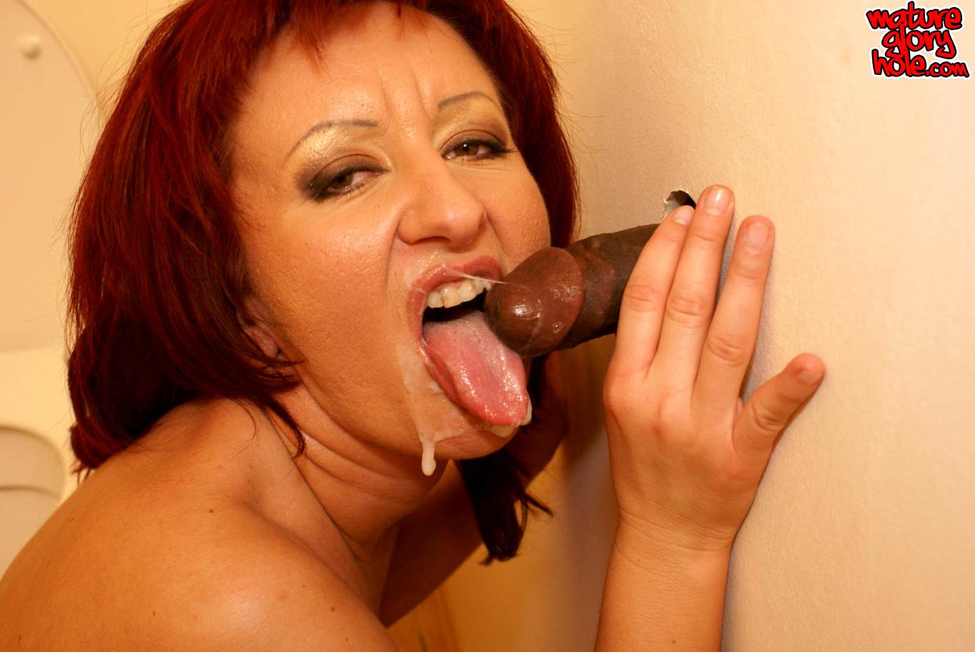redhead gloryhole