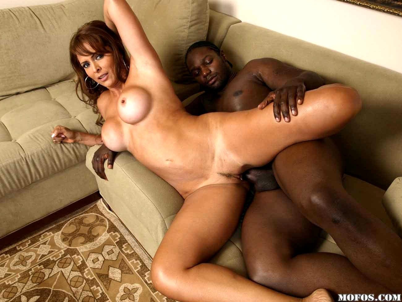 Watch latina milf interracial sex