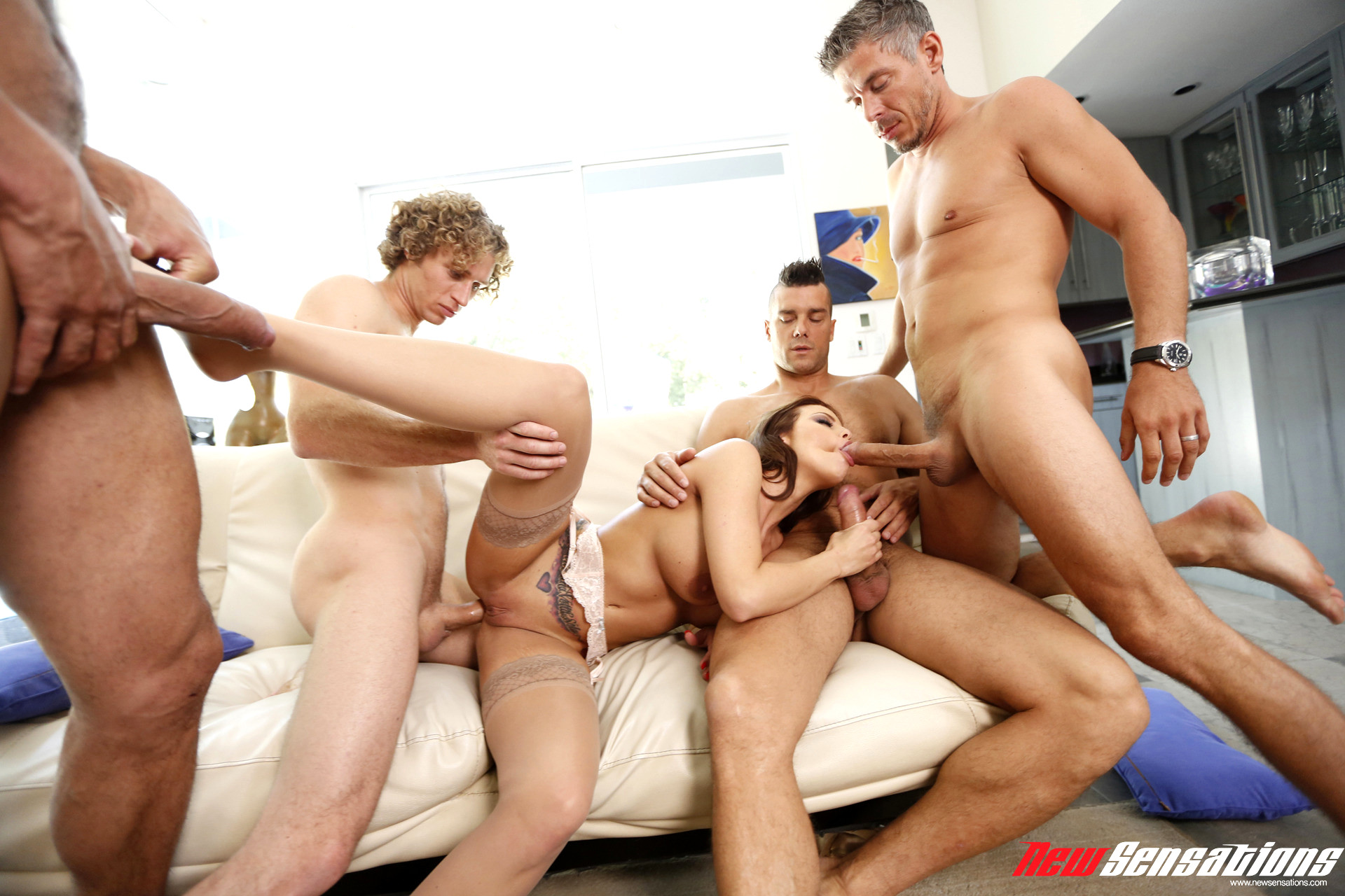 five-men-on-one-girl-porn-with-redhair