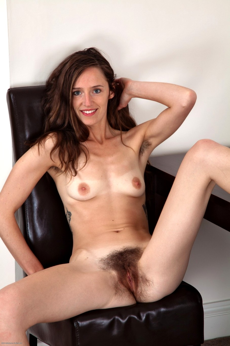 Hairy pussy skinny woman