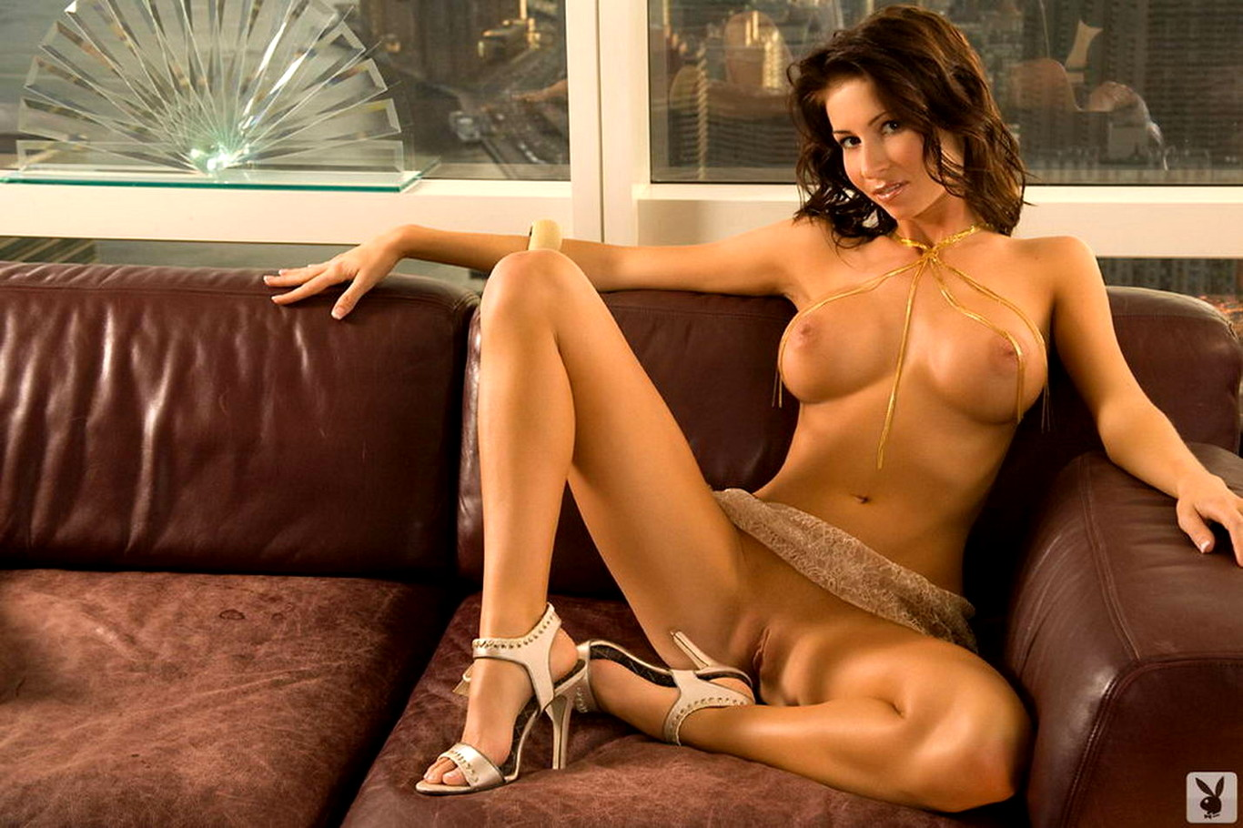 Sexy naked playboy models