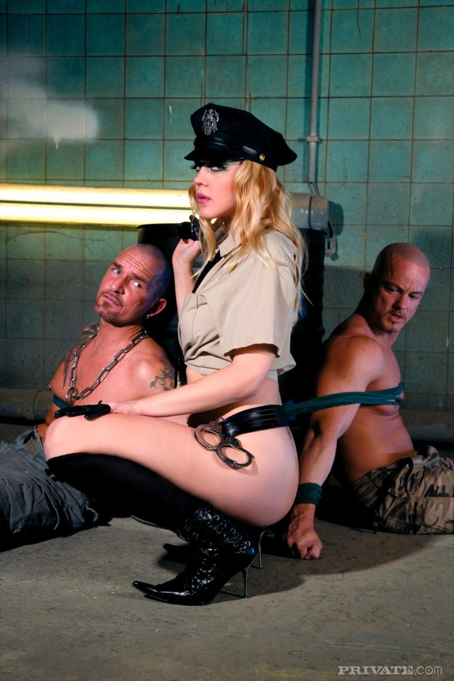 Good cop bad cop porn