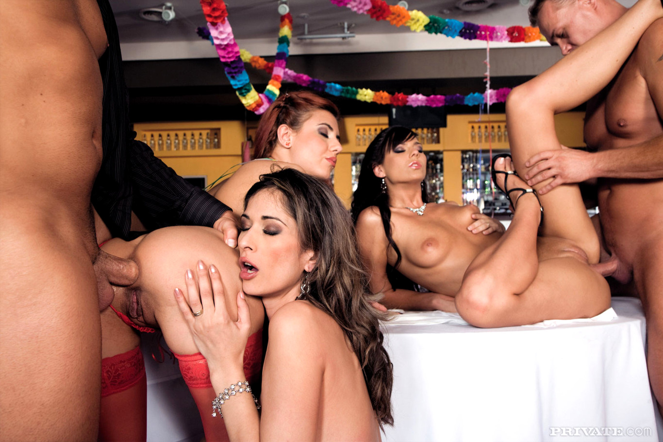 Orgy party girls #15