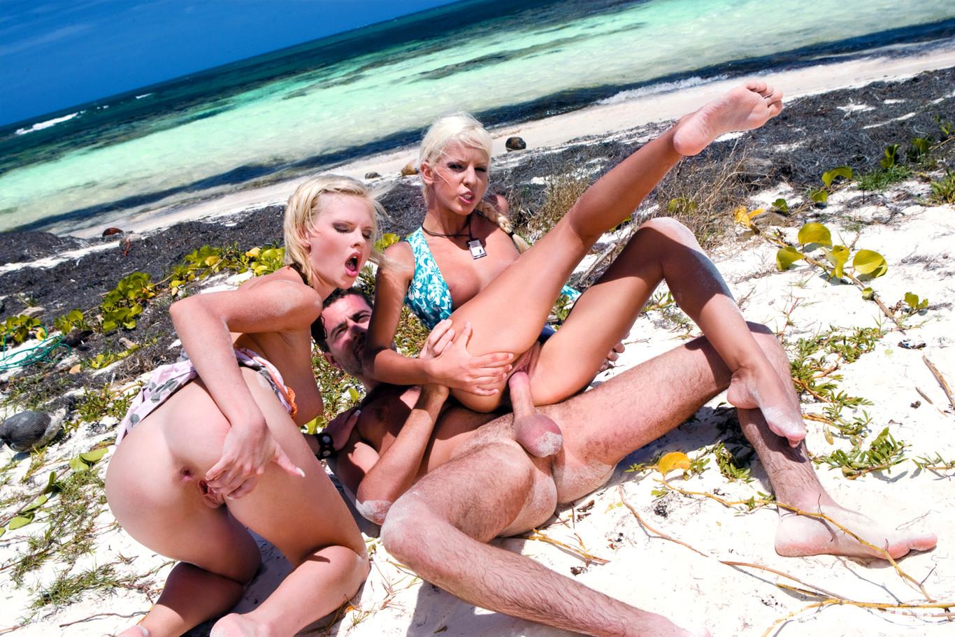 порно на пляжах европы особенно
