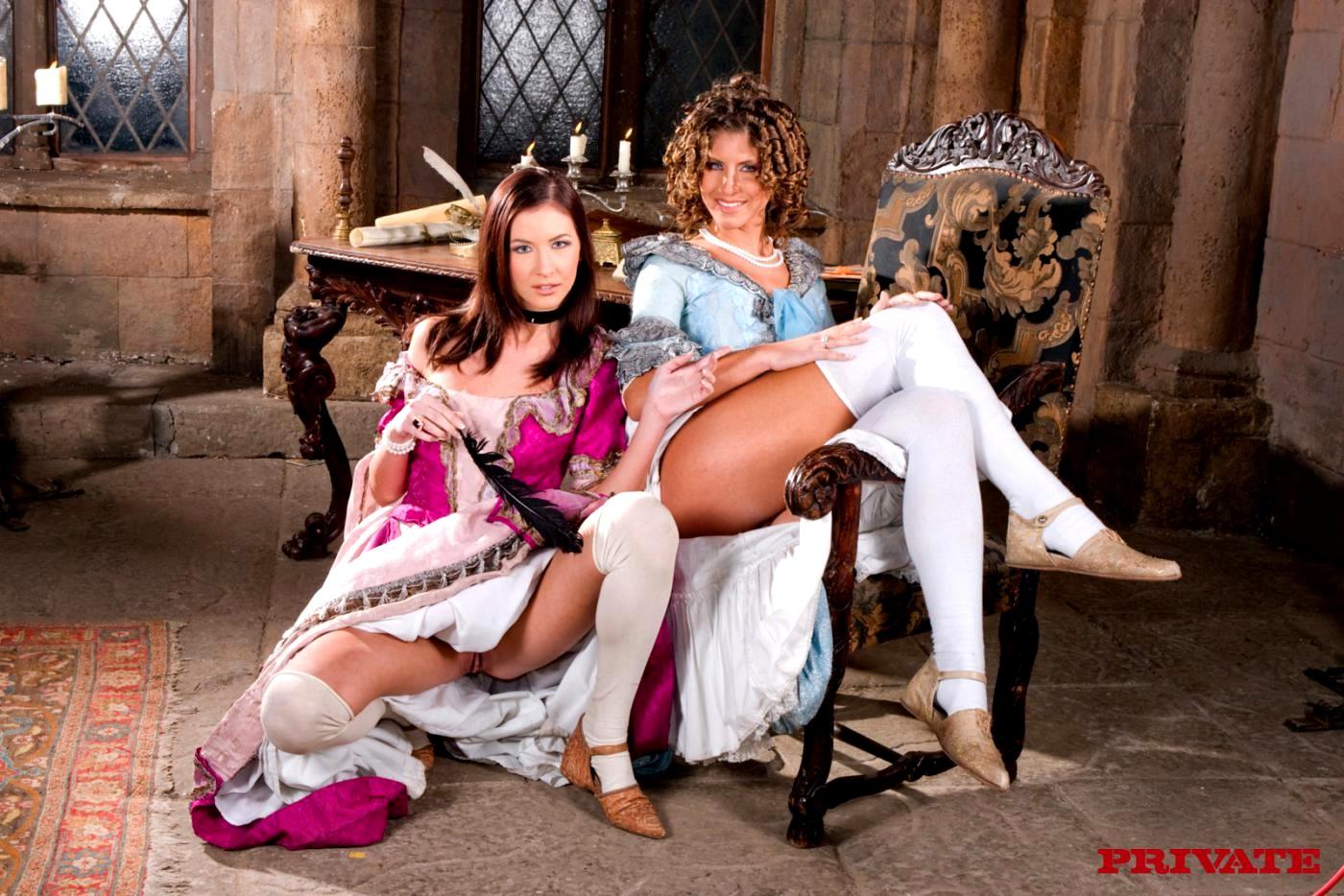 Секс в средневековом стиле, Ретро порно в средневековом стиле, ухоженные леди 23 фотография