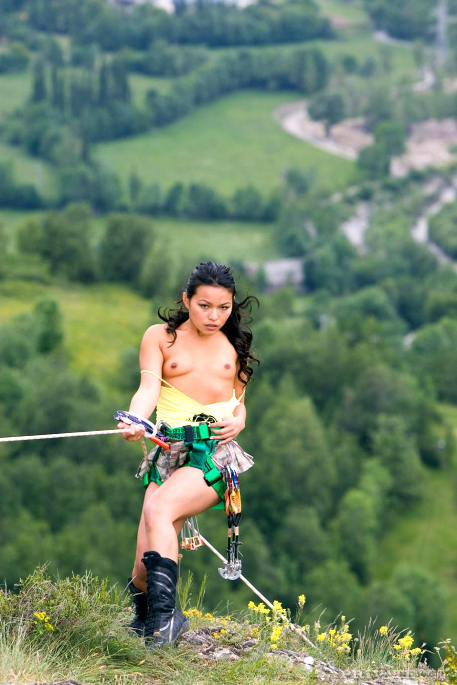 Sex rock climbing