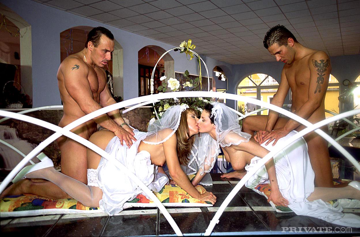 Порно жених невеста групповуха
