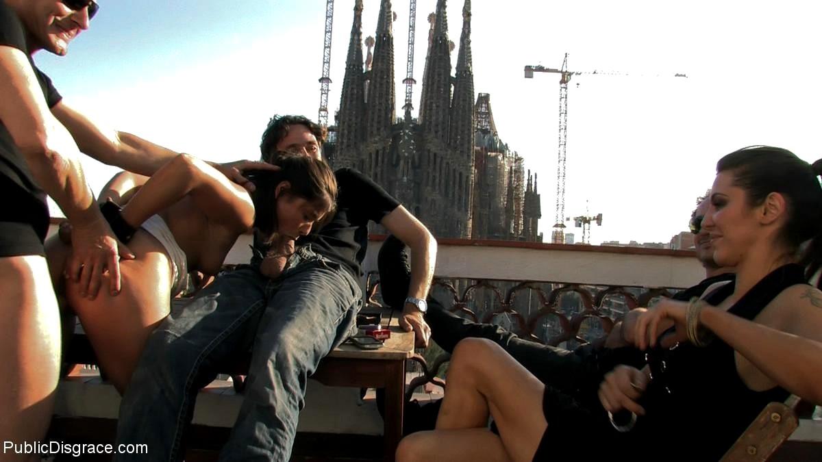 Men having sex in public places