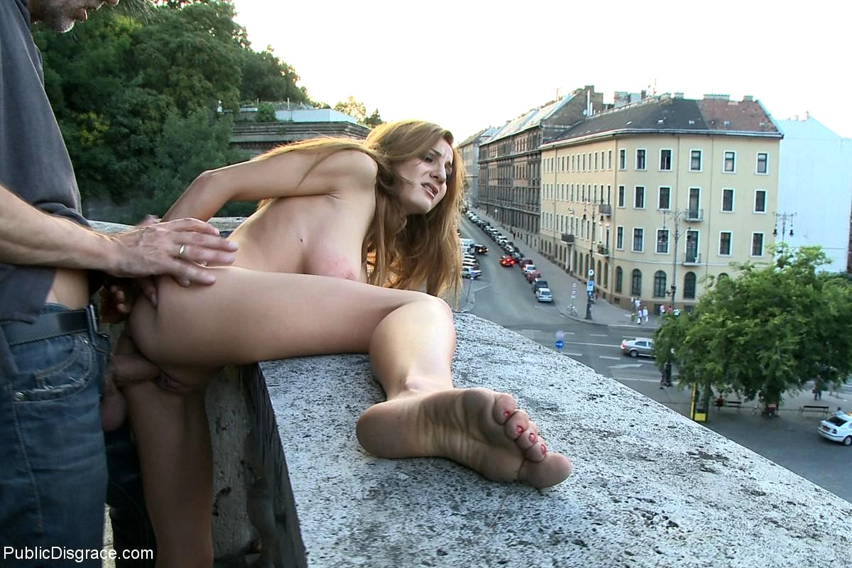 Videos of fuck in public place