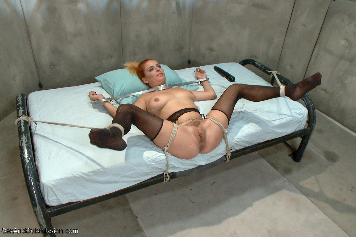Nurse tied up and fucked