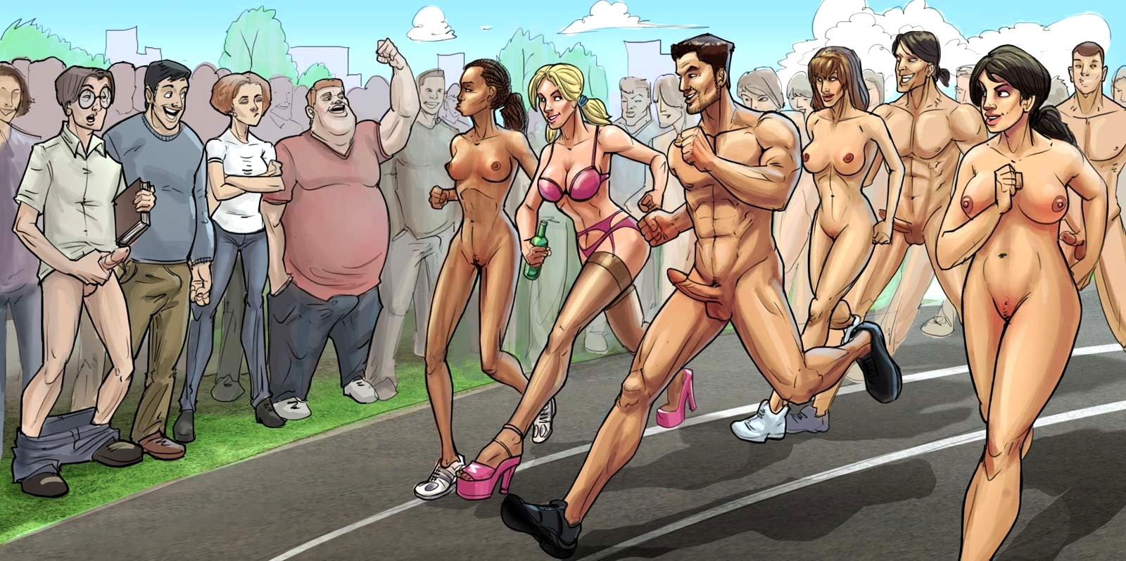 Cartoon sex porn games