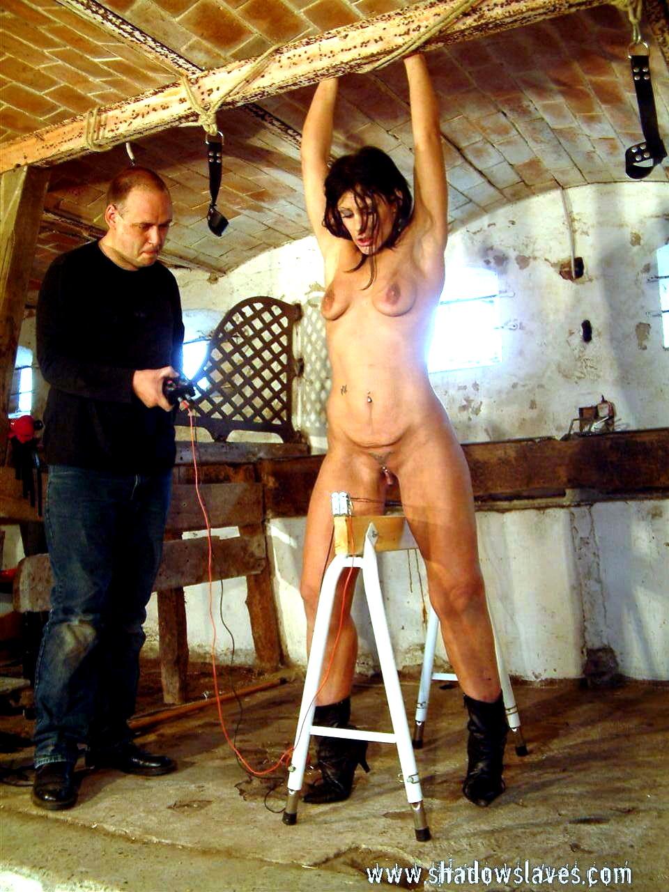 Wooden horse torture porn