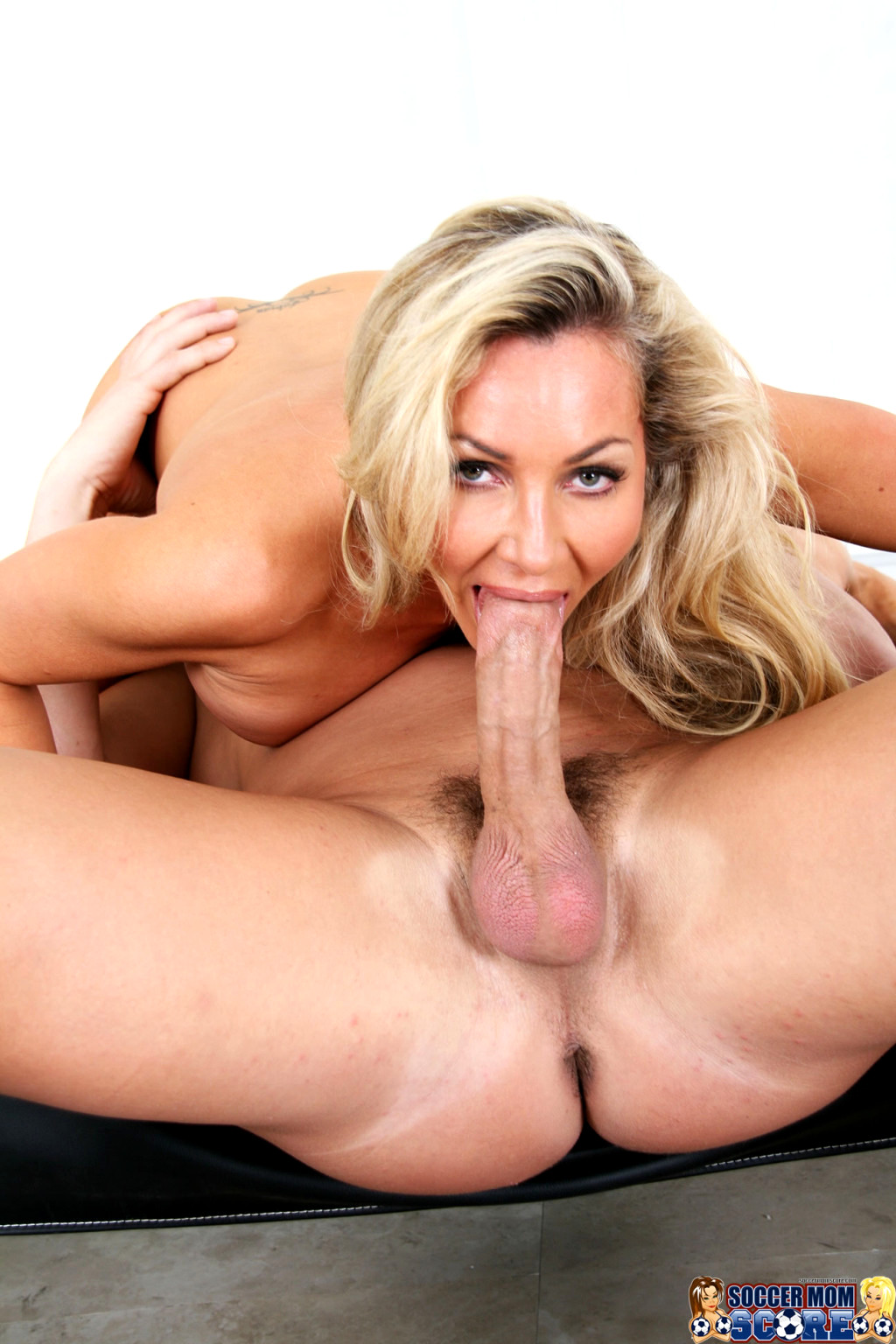 Horny Blonde Moans At The Thought Of Fucking