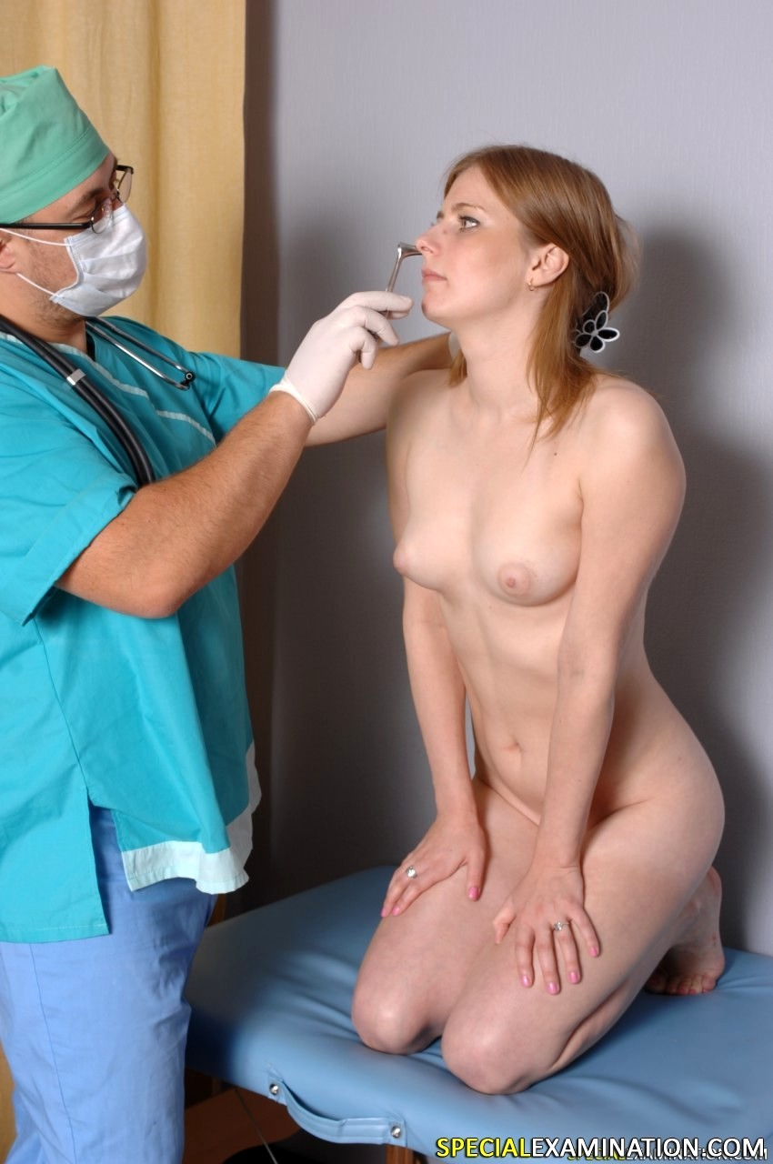 Physical exam female doctor
